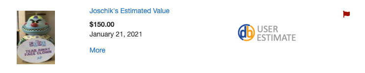 User Estimate Value